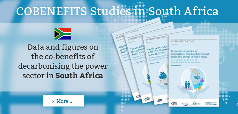 cobenefits-Studies, South Africa