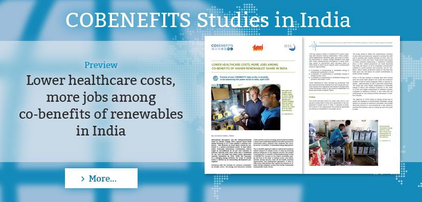 COBENEFITS Studies in India