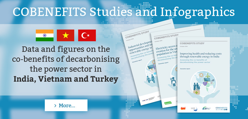 COBENEFITS Studies in India, Vietnam and Turkey