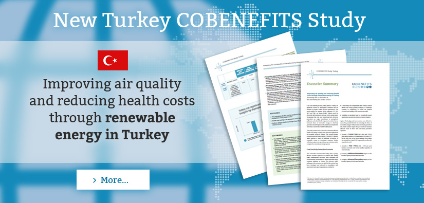 New Turkey Renewable Energy Cobenefits Study