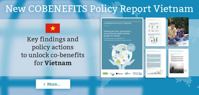 New COBENEFITS Policy Report Vietnam