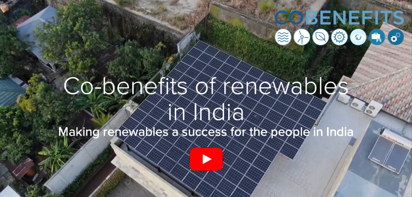 Video: Co-benefits of renewables in India