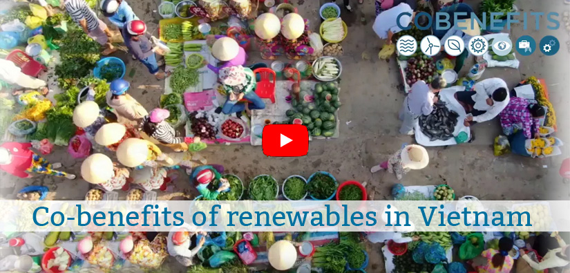 Video: Co-benefits of renewables in Vietnam