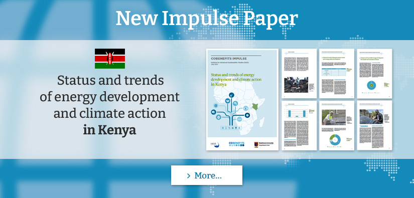 New COBENEFITS Paper: Status and trends of energy development and climate action in Kenya